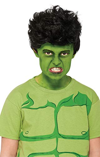 Rubies Marvel Universe Classic Collection Avengers Assemble Child Size Incredible Hulk Wig ()