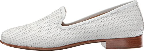 Frye tejida Zapatillas Soft White mujer Full la Tracy de Mocasines Woven Grain SOwCqx6SK7