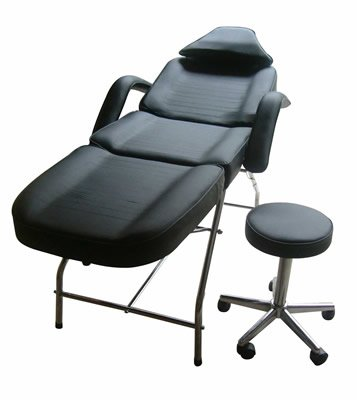 New Massage Table Bed Chair Beauty Barber Chair Facial Tattoo Chair Salon Equipment Includes Stool from Best Choice Products