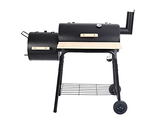 Outdoor BBQ Grill Charcoal Barbecue Pit Patio Backyard Meat Cooker Smoker US by Unbrand1