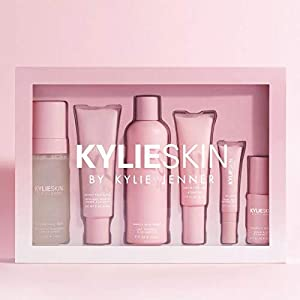 Kylie Skin Care Set! Includes Face Wash, Toner, Face Scrub, Serum, Moisturizer, And Eye Cream! Cruelty Free, Gluten Free…