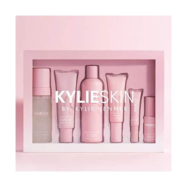 Beauty Shopping Kylie Skin Care Set! Includes Face Wash, Toner, Face Scrub, Serum,