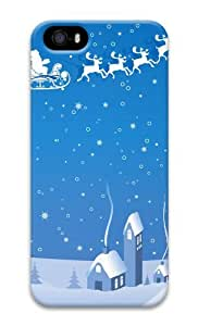 Christmas winter vector 3D Case make iphone 5S case for Apple iPhone 5/5S