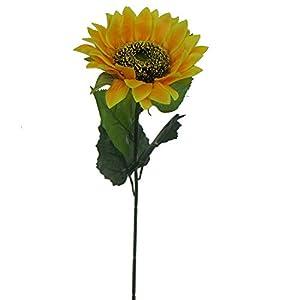 """Lily Garden 24"""" Silk Sunflowers Artificial Flowers Decor (1) 1"""