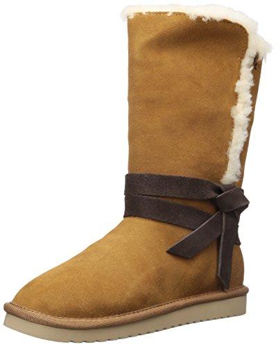 Koolaburra by UGG Women's Rozalia Tall Fashion Boot, Chestnut, 10 M US -