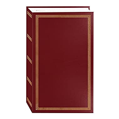 3-ring pocket BURGUNDY album for 504 photos - 4 X6