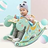 AIBAB Baby Rocking Horse Children's Rocking Chair Toddler Rocker Seat Music Newborn Gift Educational Toy