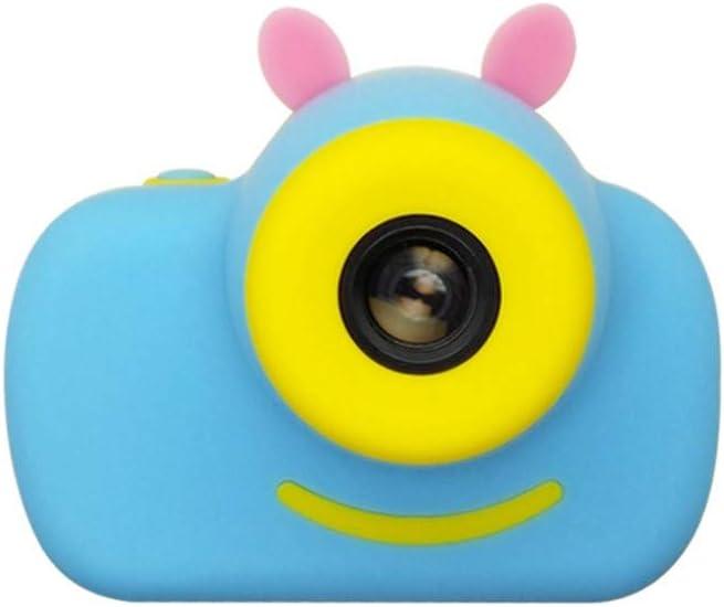 Amazon Com Cute Mini Handheld Digital Camera Video Camcorder Hd 1080p 8x Digital Zoom For Children Kids Travel Holiday Birthday Gifts Blue Kitchen Dining