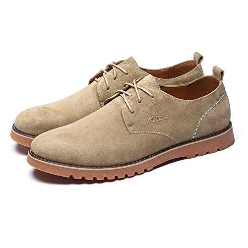 los EEUU de Cuero Reino para Azul cómodos Ocasionales 5 Arriba de los Zapatos 7 útiles tamaño Color los HhGold para los 6 Los Retros 5 Zapatos de Hombres Hombres Marrón Unido ata los qwFpBY