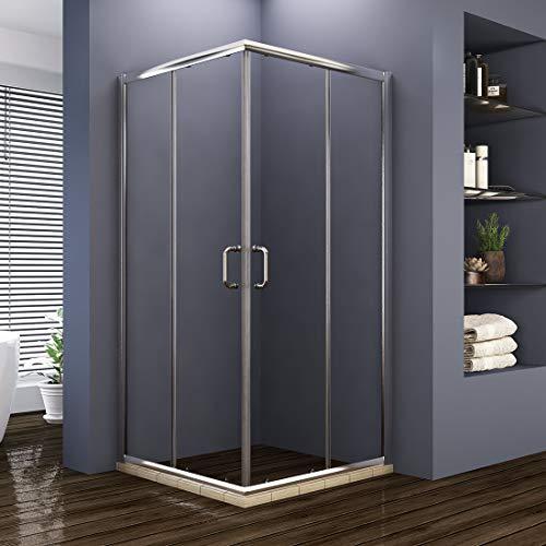 ELEGANT Double Opening Sliding Shower Enclosure, 36