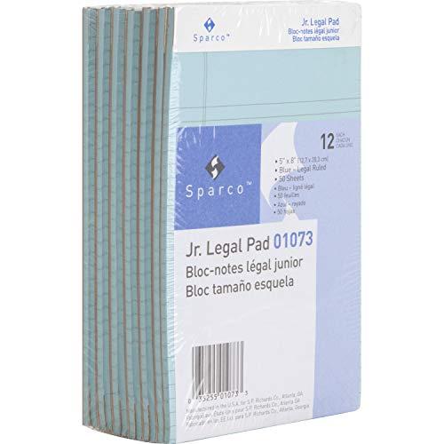 (Sparco 01073 Colored Pads, Jr.Legal Rule, 50 Shts, 5