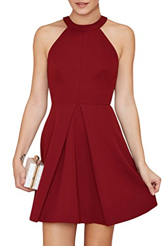 Buy halter dress cocktail - 5