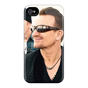 Apple Iphone 4/4s PHU1311zuxW Allow Personal Design Trendy U2 Series Shockproof Hard Phone Covers -MarcClements