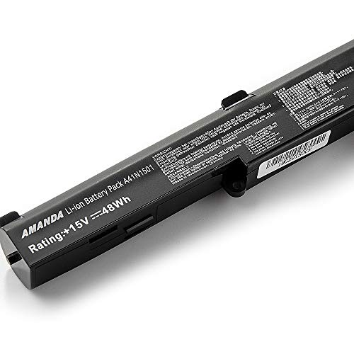Amanda A41N1501 Battery 15V 48Wh Replacement for ASUS ROG G752VW GL752VL GL752VW N752VW N552V N552VX N752V Series A41LK9H L41LK2H 0B110-00360000 0B110-00360100