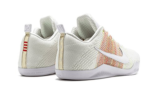 Nike Kobe Xi Elite Low 4kb 824463-199 Witte / Multi-color Basketbalschoenen Heren Basketbal Wit / Multi-color Multi-color