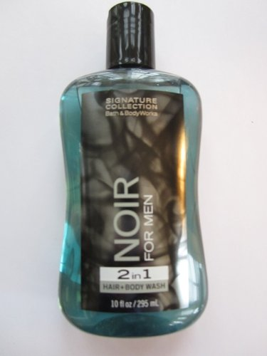 Bath & Body Works NOIR 2 in 1 Hair & Body Wash 10 Fl Oz (295 ML)