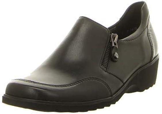 ara Andros, Mocasines para Mujer, Schwarz (Schwarz 05), 37 EU: Amazon.es: Zapatos y complementos