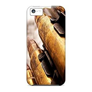 Durable Defender Case For Iphone 5c Tpu Cover(bullets)
