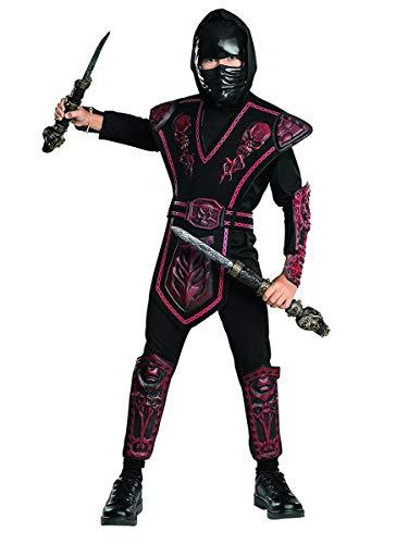 (Childrens Costume Boys Ninja Warrior Samurai Outfit L Boys Large (8-10)