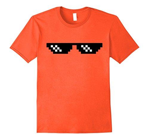 Mens Deal with it dank emoji T-Shirt pixel sunglasses Small - Sunglasses Emoji With It Deal