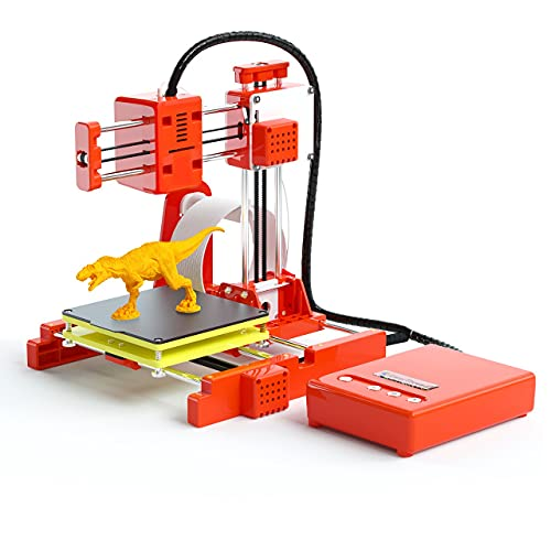 WZTO 3D Printer for Kids & Beginners,Mini 3D Printers with Low Noise Silent Motherboard, Small 3D Printing Machine Fast…