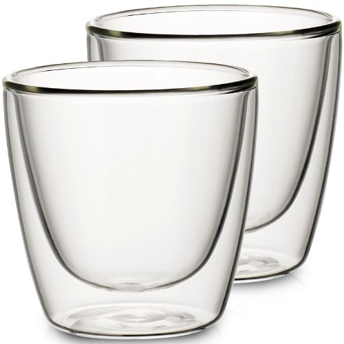 VILLEROY & BOCH ARTESANO HOT BEVERAGES Glass tumbler - medium - set of 2 (Villeroy Boch Artesano And)