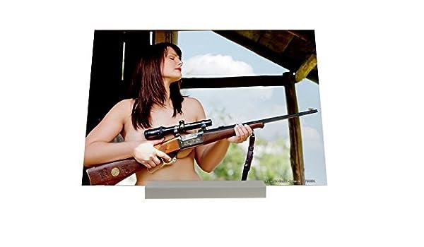 Soporte Fotografias Bar Restaurant cazadora desnuda Cartel: Amazon.es: Hogar
