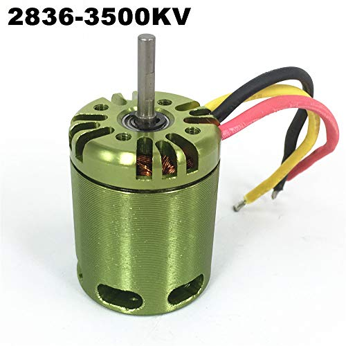 Accessories Mystery 2836 3500KV Outrunner Brushless Motor for RC Helicopter 450 480 Helicopter