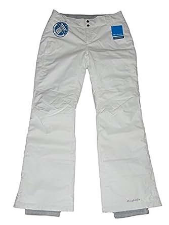 Columbia Womens Arctic Trip Ski Snowboard Pants White (XS)
