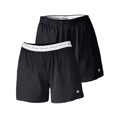 Women's Active 5' Mesh Short, Black, S