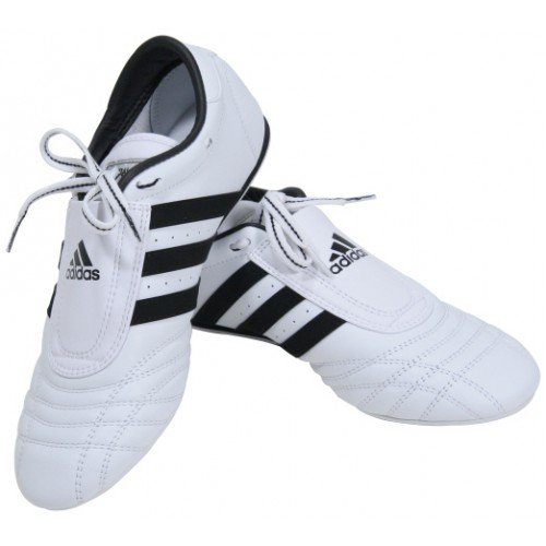 Adidas SMII Martial Arts Sneaker White with Black Stripes size 6 by SM-II