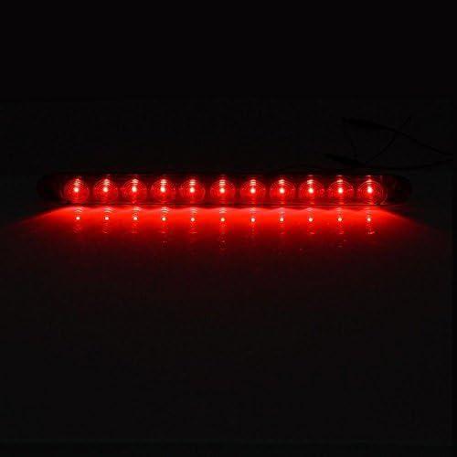 Nirnanada 1/pcs Rouge 38,1/cm /étanche 11/Barre lumineuse LED Arr/êt Tournez Queue 3/ème Feu stop Camion Remorque