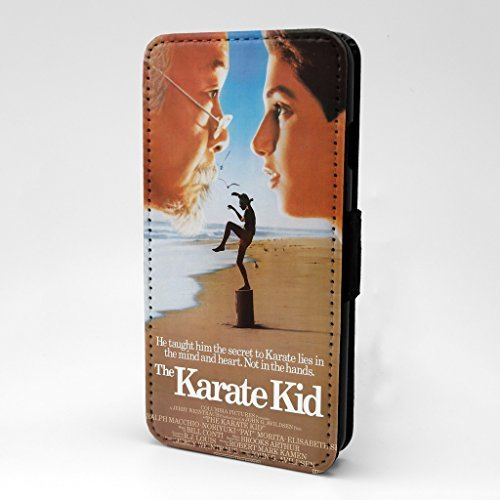 klassisch Film Poster bedruckt Telefon Flip Case Hülle für Apple iPhone 6 - 6S - Karate Kinder - s-a1283