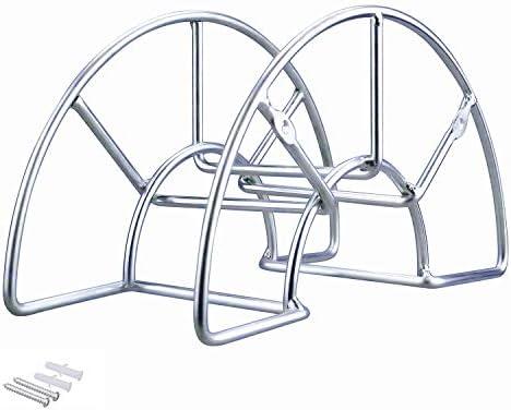 Heavy Duty Metal Hose Holder Wall Mount Hook for Garden Hose//Expandable Hose//Hose Reel//Water Hose//Pocket Hose//Flexable Hose//Magic Hose Sageme Hose Hanger