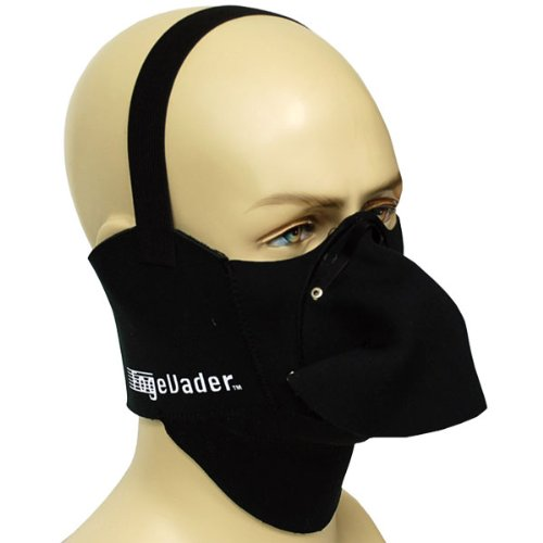 Motorcycle Snowmobile Snowboard Ski Face Mask Fog Evader Black by Power Gear Motorsports