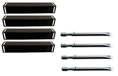 Hongso 16 1/2' Gas Grill Burners, 16 1/2' Heat Plates Replacement for BBQ Grillware GGPL-2100...