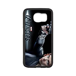 Samsung Galaxy S6 Phone Case White Black Widow VLN1112028