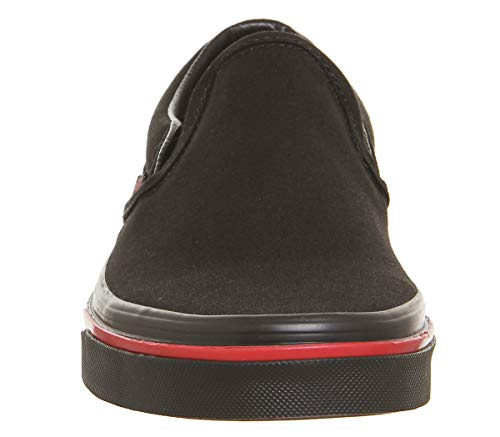 Deporte U Wall Vans Black De Zapatillas Unisex Authentic Flame qCdwzSId