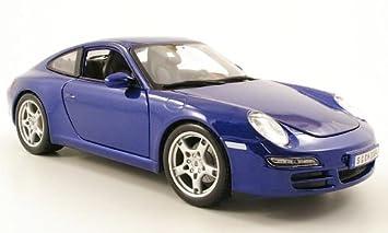 Porsche 911 Carrera S (997) , metálico-azul, Modelo de Auto, modello completo, Maisto 1:18: Maisto: Amazon.es: Juguetes y juegos