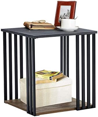 Linsy Home 2 Tier Side Table