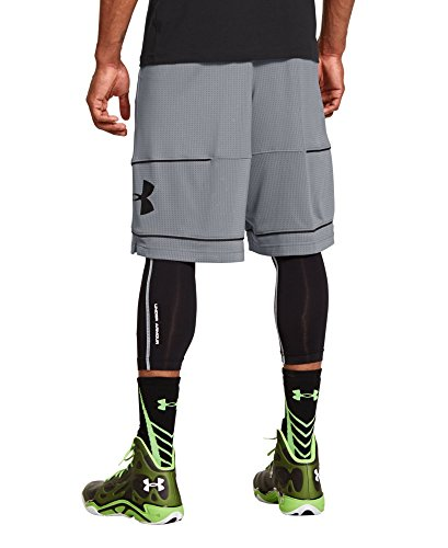 Under Armour Men's UA Freight Game Solid Shorts Small Steel