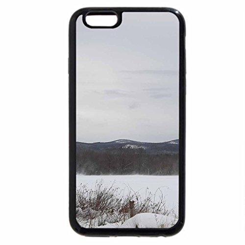 iPhone 6S Case, iPhone 6 Case (Black & White) - winter in industry, maine 6