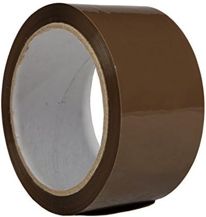 BB de embalajes cinta adhesiva, 6 unidades, PP 24 (marrón) Pack de banda cinta adhesiva para paquetes cartón del paquete: Amazon.es: Bricolaje y herramientas