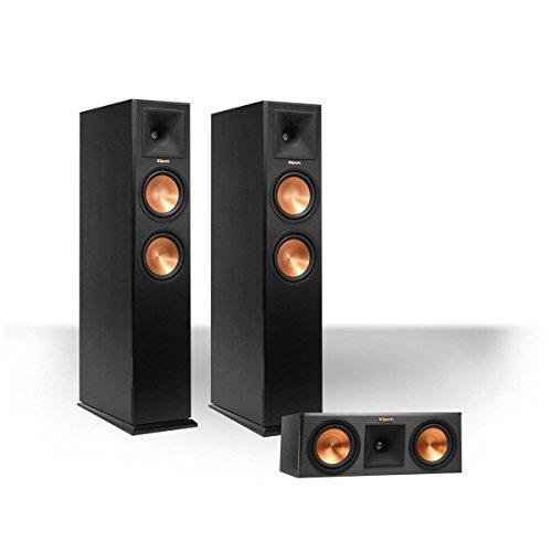 Klipsch RP-260F Reference Premiere Floorstanding Speaker Package with RP-250C Reference Premiere Center Channel Speaker (Ebony)