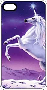 Unicorn Rearing White Unicorn White Plastic Case for Apple iPhone 6