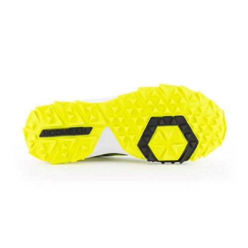 Scarpe Turf Da Uomo Turbo Boombah - 20 Opzioni Di Colore - Più Dimensioni Nero / Contrazione