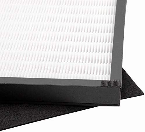 Vhbw Luftfilter Set Passend Für Dirt Devil Pureza Ac 250 Luftbefeuchter Luftreiniger Hepa Filter Aktivkohlefilter Baumarkt