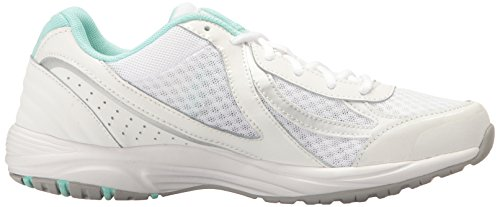 3 Walking Dash Women's White Ryka Silver Mint Shoe xOHaA