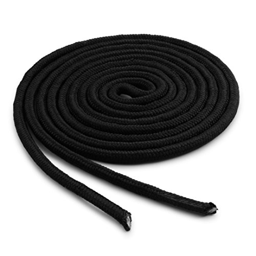 OrthoStep Heavy Duty Black 63 inch Work Boot Laces 2 Pair (Heavy Duty Boot Laces)