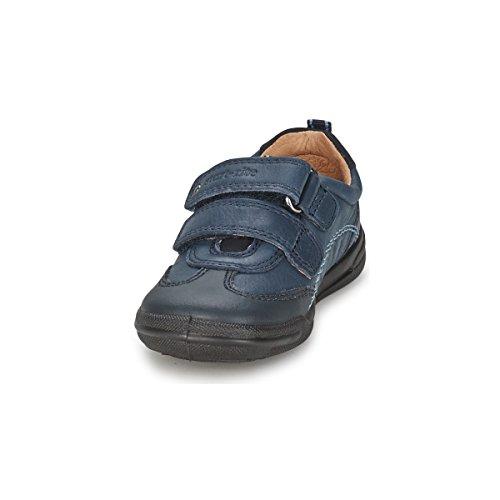 Start-rite Jungen Flexy Soft-Air ersten Schuhe F, Blau - Marineblau (Leder) - Größe: 20EU